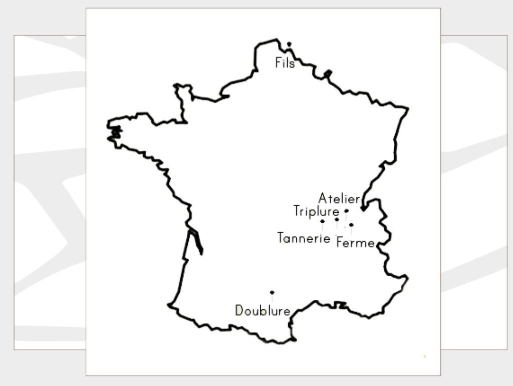 Notre réseau de production français